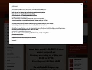 groothandelmineralen.nl screenshot