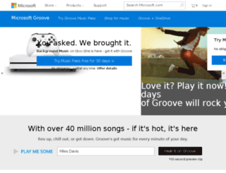 groove.net screenshot