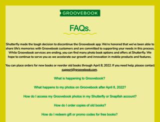 groovebook.com screenshot