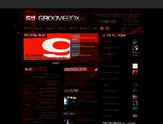 groovebox.it screenshot