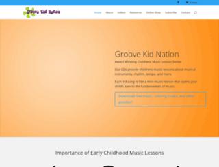 groovekidnation.com screenshot