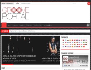 grooveportal.it screenshot