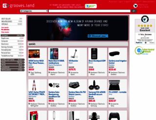grooves-inc.com screenshot