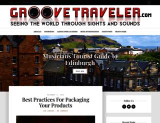 groovetraveler.com screenshot