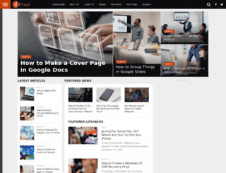 groovypost.com screenshot