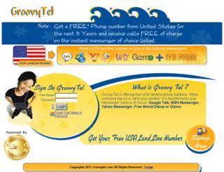 groovytel.com screenshot