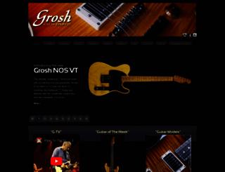 groshguitars.com screenshot