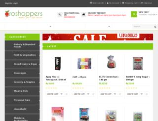 groshoppers.com screenshot