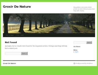 grosirdenature.com screenshot