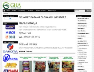 grosirherbalalami.com screenshot