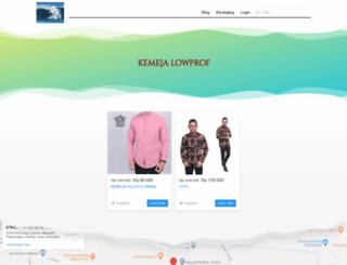 grosirkemeja.com screenshot