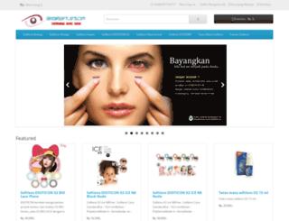 grosirsoftlens.com screenshot