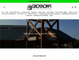 groskopfsluggage.com screenshot