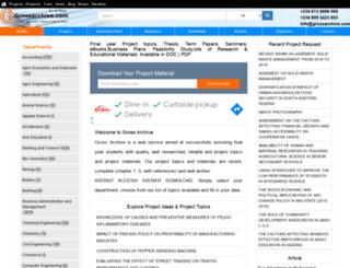 grossarchive.com.ng screenshot
