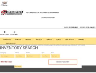 grossingercitychevy.com screenshot