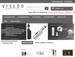 grossiste-ecig-viseoo.fr screenshot