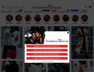 grossiste-en-ligne.com screenshot