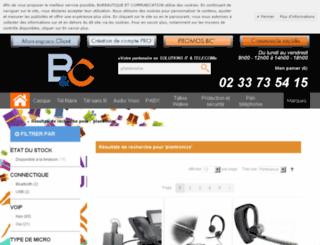 grossiste-plantronics.com screenshot
