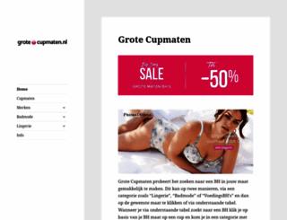 grote-cupmaten.nl screenshot
