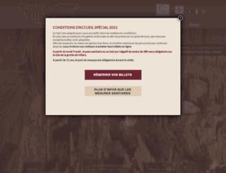 grotte-villars.com screenshot