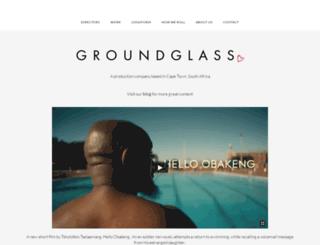 groundglass.co.za screenshot