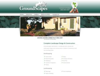 groundscapesct.com screenshot