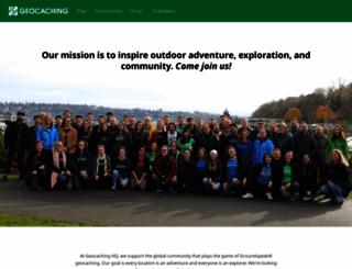 groundspeak.com screenshot