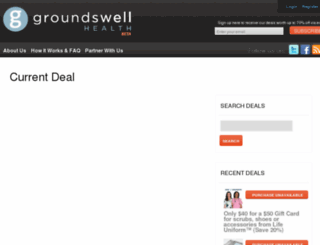 groundswellhealth.com screenshot