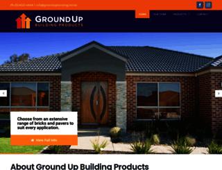 groundupbuilding.net.au screenshot