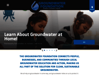 groundwater.org screenshot