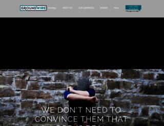 groundwire.net screenshot