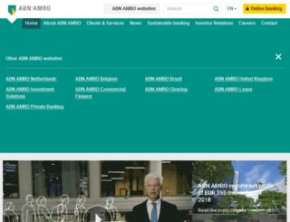 group.abnamro.com screenshot