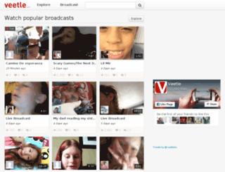 group.veetle.com screenshot
