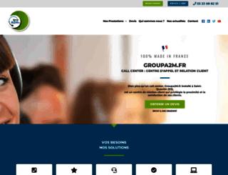 groupa2m.fr screenshot