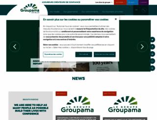 groupama.com screenshot