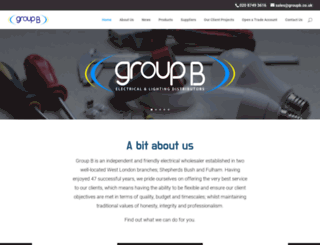 groupb.co.uk screenshot
