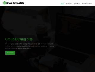 groupbuyingsite.com screenshot