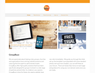 groupbuzz.co.uk screenshot