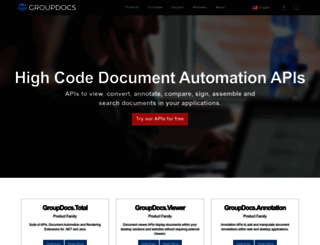 groupdocs.com screenshot