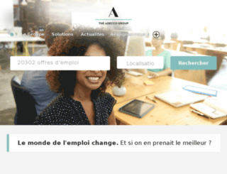 groupe-adecco-france.fr screenshot
