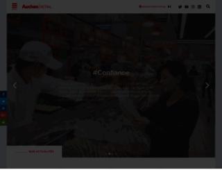 groupe-auchan.com screenshot