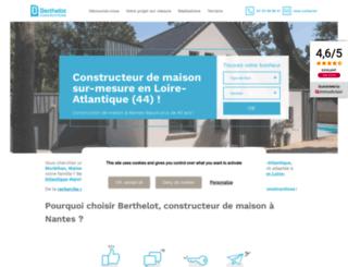 groupe-berthelot.com screenshot