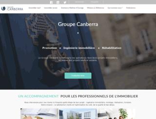 groupe-canberra.fr screenshot
