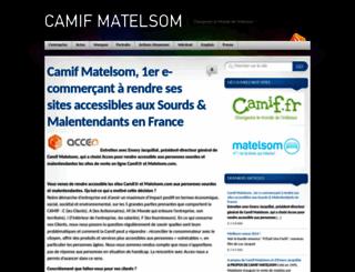groupe-matelsom.com screenshot