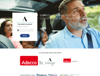 groupeadecco.covoiturage.fr screenshot