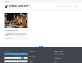 groupecanam.ws screenshot