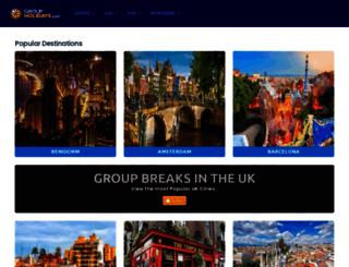 groupholidays.com screenshot
