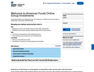 groupinvestments.americanfunds.com screenshot