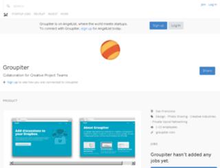 groupiter.com screenshot
