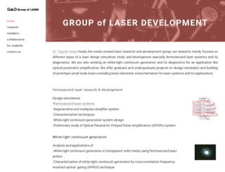 groupoflaserdevelopment.com screenshot